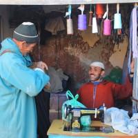 Tailor at Amizmiz Souk